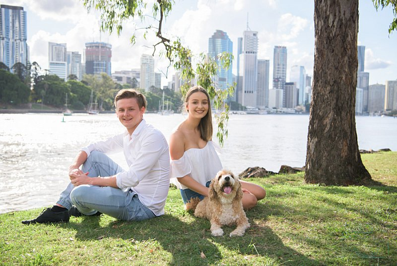 Kangaroo Point Cliffs Family Portrait Photography