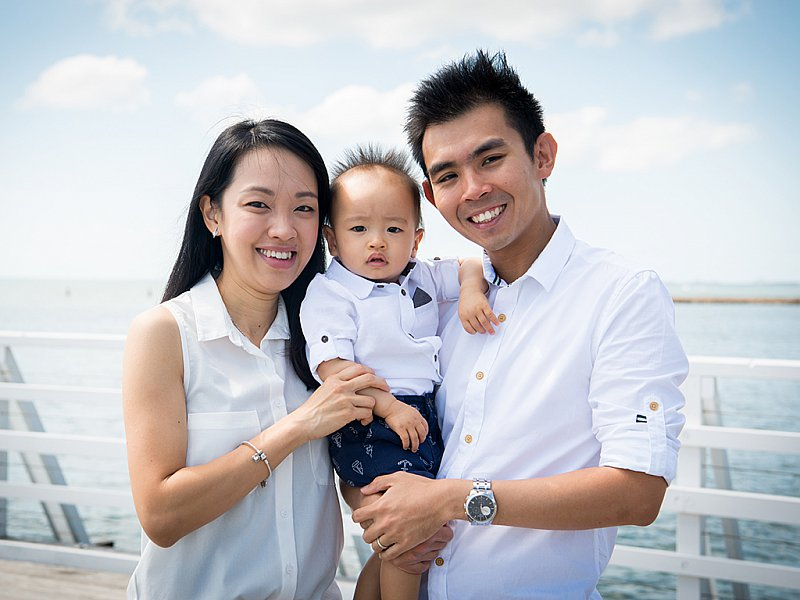 Shorncliffe Jetty Family Portrait Photography